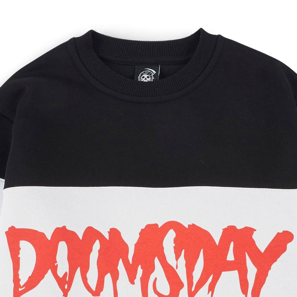 doomsday logo 3 tone- crewneck black white 1  doomsday logo 3 tone- crewneck black white 3  doomsday logo 3 tone- crewneck black white 2 ee009df0e6aa