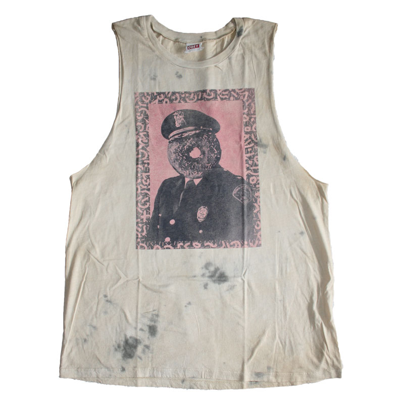 Cut Wash Officer Canotta Tank Dirty Obey Sprinkles 8knP0wO