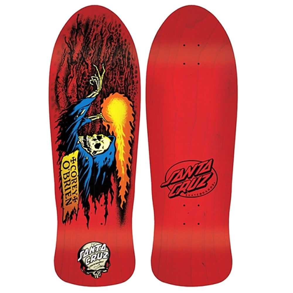 Corey o 39 brien red stain reaper re issue santa cruz - Tavole da snowboard santa cruz ...