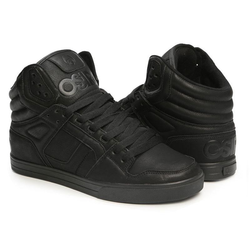 Scarpe Metal Black Sneakers Osiris Alte Clone RL4A5j