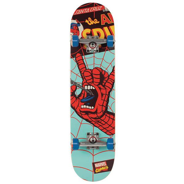 Skate completo santa cruz marvel spiderman hand regular - Tavole da snowboard santa cruz ...