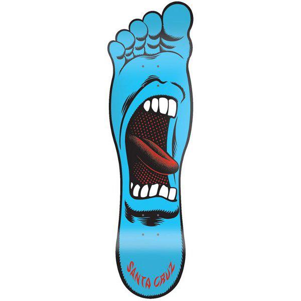 Tappeto santa cruz screaming foot deck - Tavole da snowboard santa cruz ...