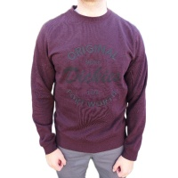 dickies_pimento_crew_neck_fleece_maroon_1
