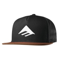 emerica_triangle_snapback_cap_black_brown_1