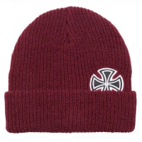 independent_solo_cross_beanie_oxblood_1