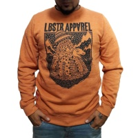 lobster_lochness_crewneck_sweatshirt_orange_1
