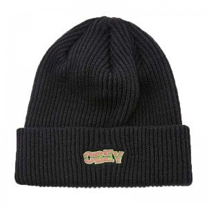 obey_ripped_beanie_black_1