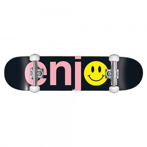 skateboard_enjoi_no_brainer_smiley_complete_black_pink_8_125_3