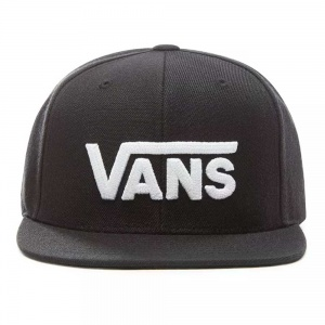 vans_boys_drop_v_ii_snapback_black_white_2
