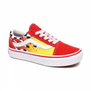 vans_flame_youth_comfycush_old_skool_checkerboard_red_2