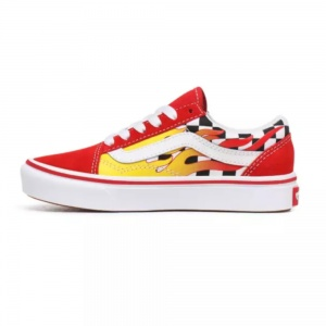 vans_flame_youth_comfycush_old_skool_checkerboard_red_3