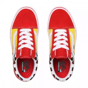 vans_flame_youth_comfycush_old_skool_checkerboard_red_4