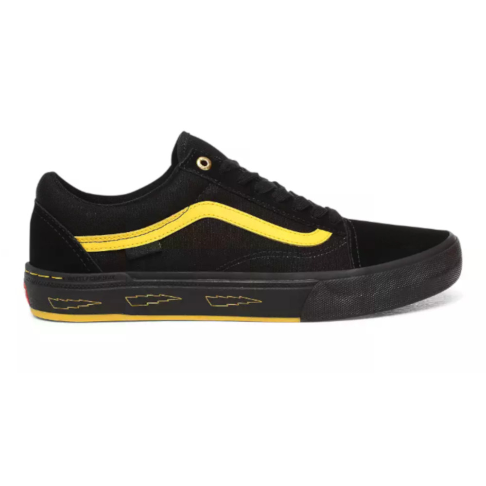 Scarpe Vans Larry Edgar Old Skool Pro BMX Black Yellow